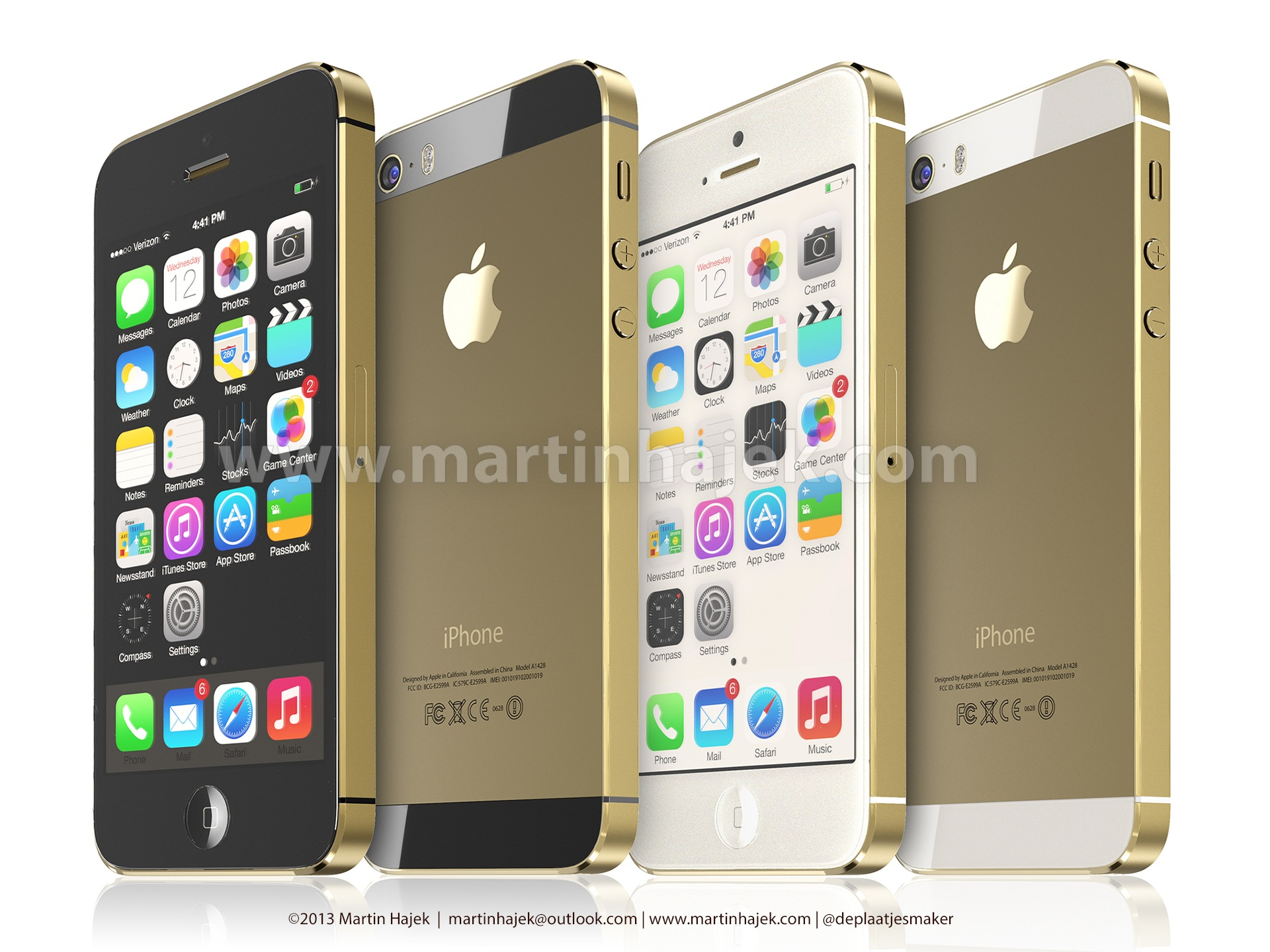Gold iPhone 5S (Martin Hajek 005)