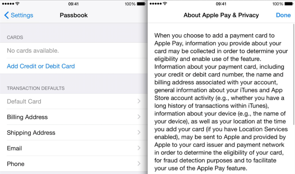 apple pay ios 8-1