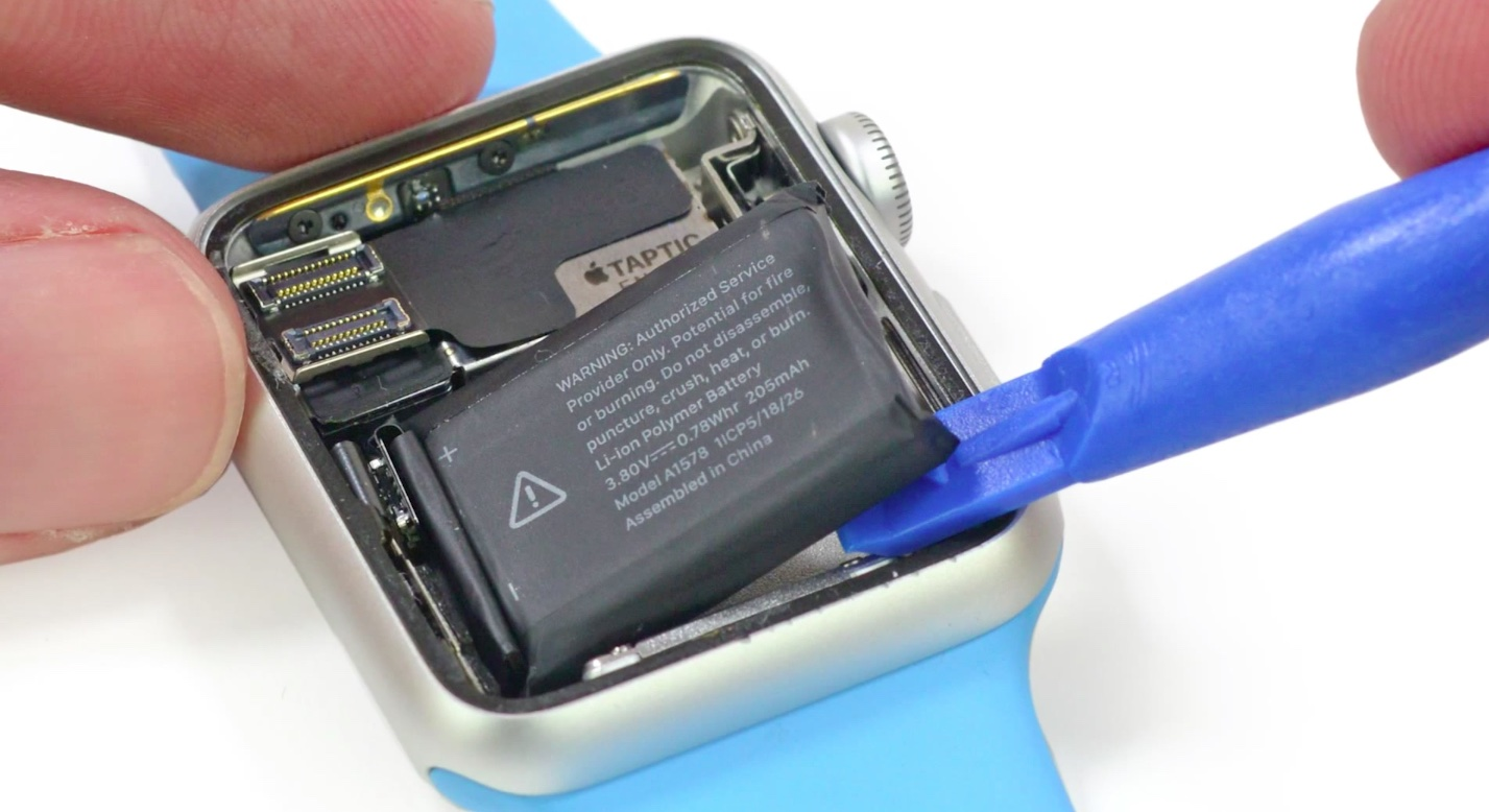 Apple Watch battery iFixit 002