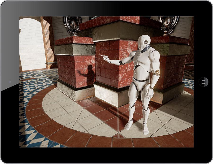 Unreal Engine 4.9 for iOS iPad screenshot 001
