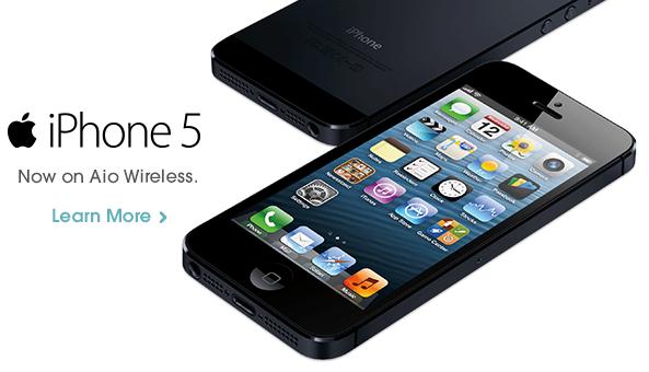 AIO Wireless (iPhone 5 teaser)