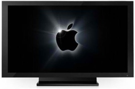 HDTV with Apple logo (small)