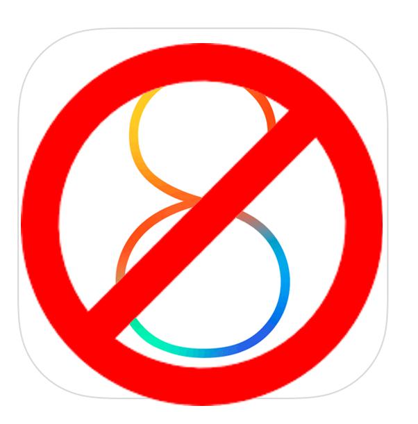 iOS 8 dead