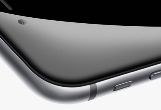 iPhone 6 screen corner