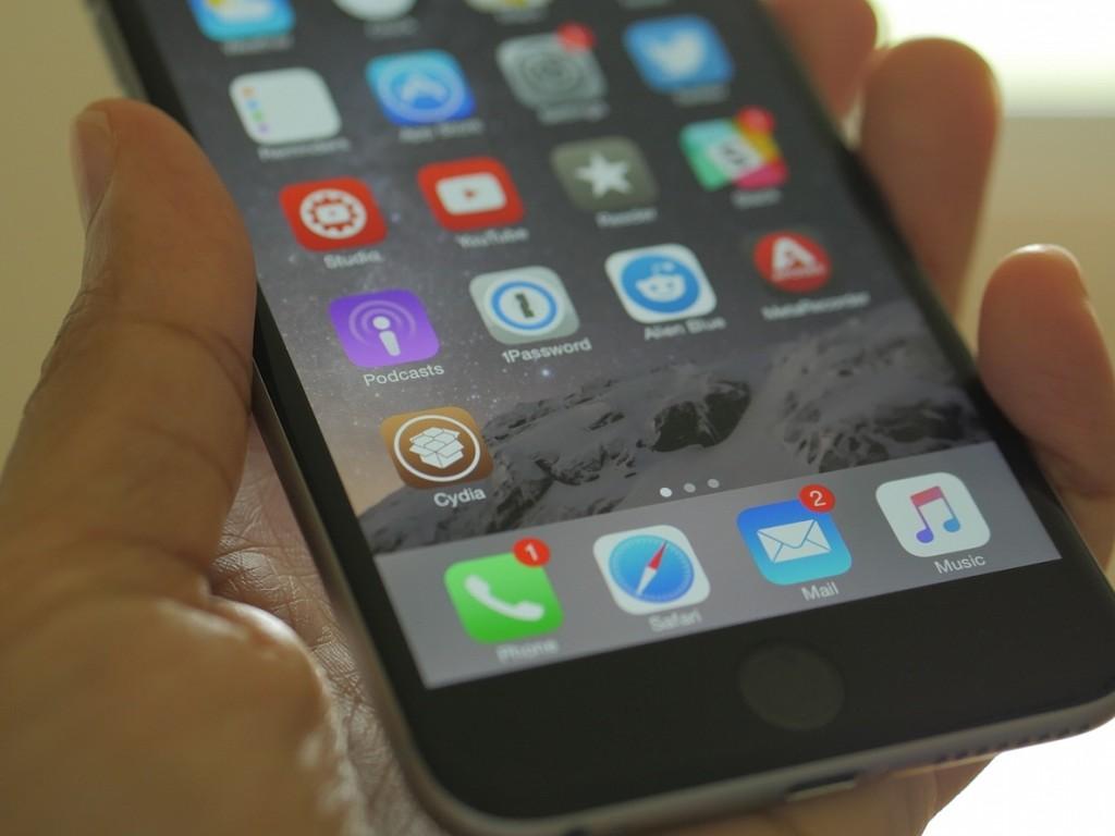 Jailbreak iPhone 6 Plus iOS 8.4