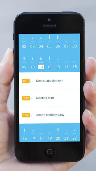Peek Calendar 1.0 for iOS (iPhone screenshot 002)