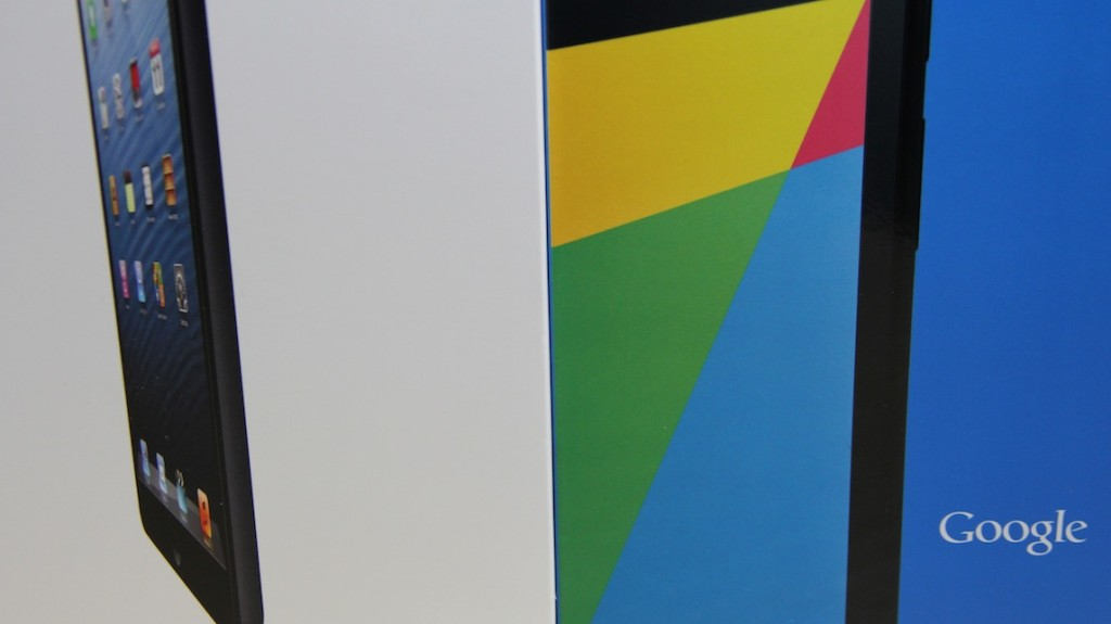 New Nexus 7 vs iPad mini Featured