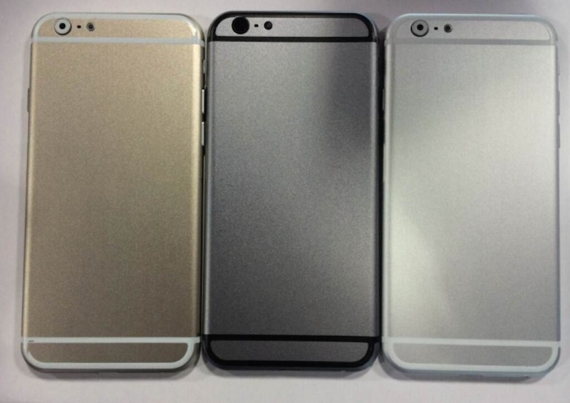 iPhone 6 mockups (gold, gray, silver)
