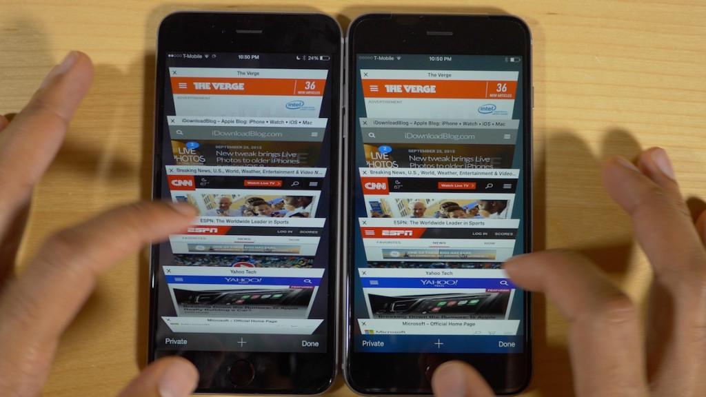 2GB of RAM iPhone 6s Plus